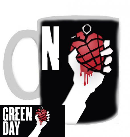 hrníček - Green Day - hrnek 1