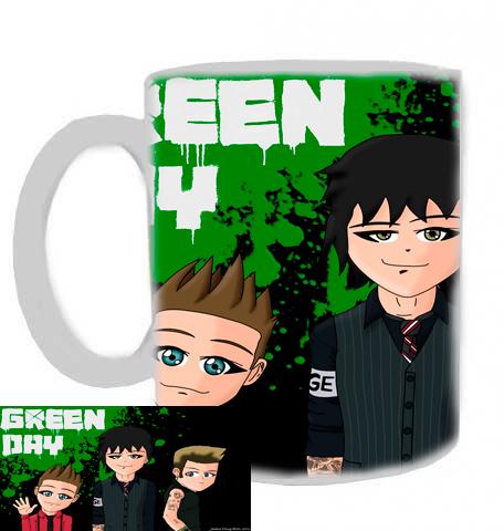 hrníček - Green Day - hrnek 2
