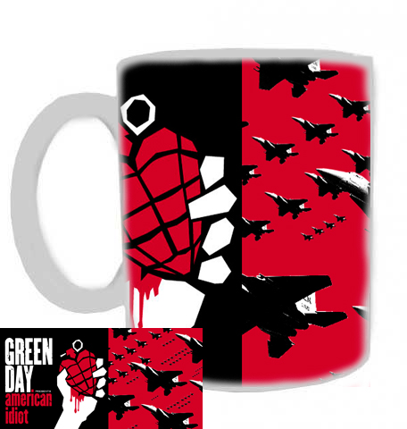 hrníček - Green Day - hrnek 4
