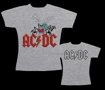 AC/DC - dámské triko šedé