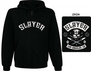 Slayer-mikina s kapucí a zipem