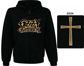 Ozzy Osbourne-mikina s kapucí a zipem