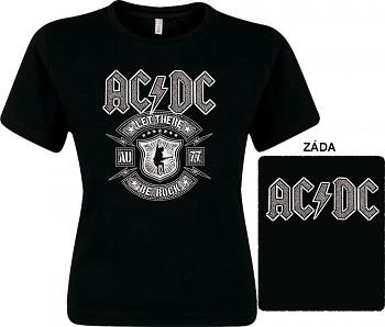 AC/DC - dámské triko