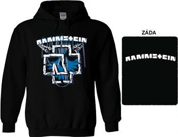 Rammstein - mikina s kapucí
