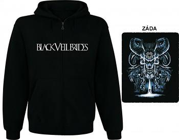 Black Veil Brides - mikina s kapucí a zipem