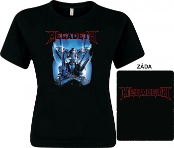 Megadeth - dámské triko