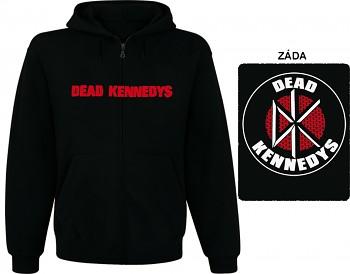 Dead Kennedys - mikina s kapucí a zipem