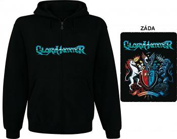 Gloryhammer - mikina s kapucí a zipem