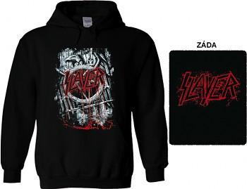 Slayer - mikina s kapucí
