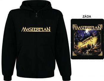 Masterplan - mikina s kapucí a zipem