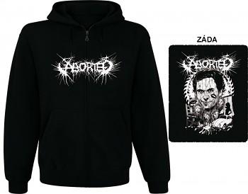 Aborted - mikina s kapucí a zipem