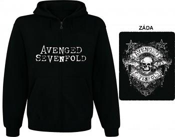 Avenged Sevenfold - mikina s kapucí a zipem