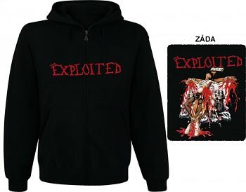 Exploited - mikina s kapucí a zipem