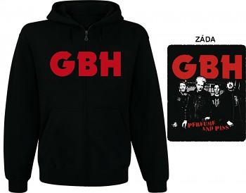 G.B.H. - mikina s kapucí a zipem