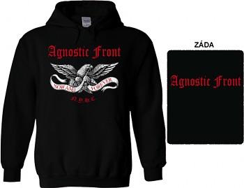 Agnostic Front - mikina s kapucí