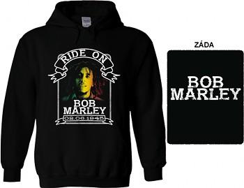 Bob Marley - mikina s kapucí