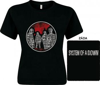 System Of A Down - dámské triko
