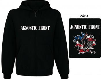 Agnostic Front - mikina s kapucí a zipem