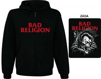 Bad Religion - mikina s kapucí a zipem