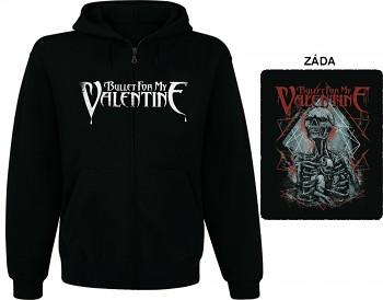 Bullet For My Valentine - mikina s kapucí a zipem