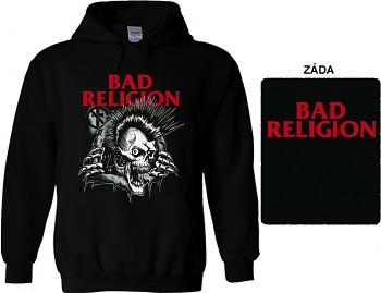 Bad Religion - mikina s kapucí