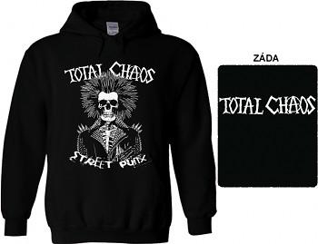 Total Chaos - mikina s kapucí