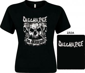 Discharge - dámské triko