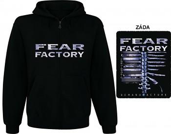 Fear Factory - mikina s kapucí a zipem