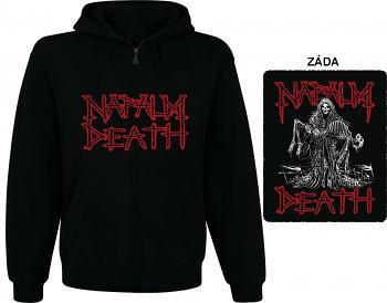 Napalm Death - mikina s kapucí a zipem
