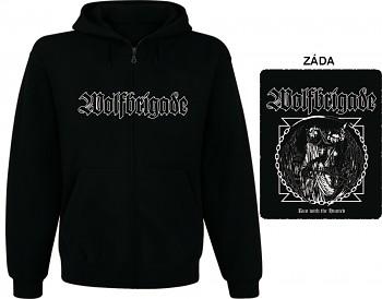 Wolfbrigade - mikina s kapucí a zipem