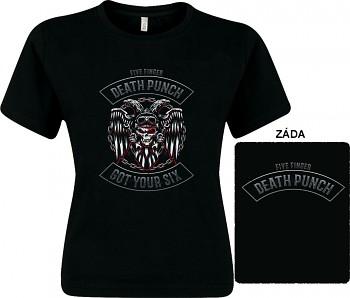 Five Finger Death Punch - dámské triko