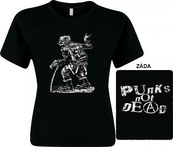 Punk's Not Dead - dámské triko