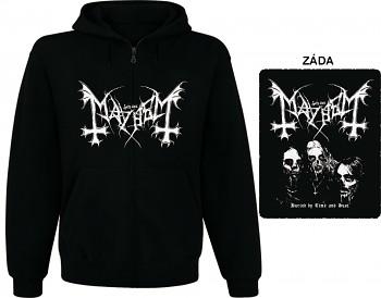 Mayhem - mikina s kapucí a zipem