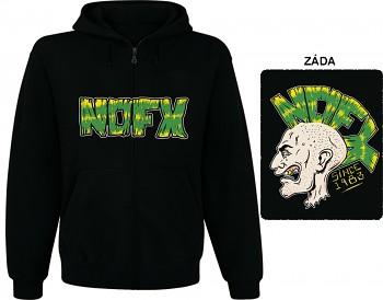 NOFX - mikina s kapucí a zipem