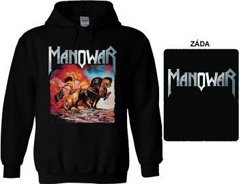 Manowar - mikina s kapucí