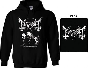 Mayhem - mikina s kapucí