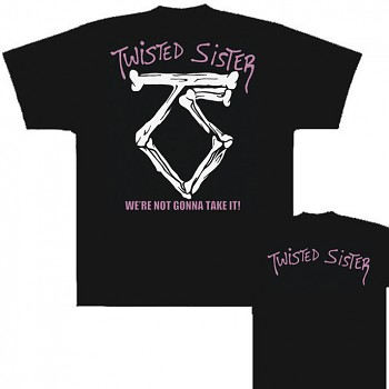 Twisted Sister - triko