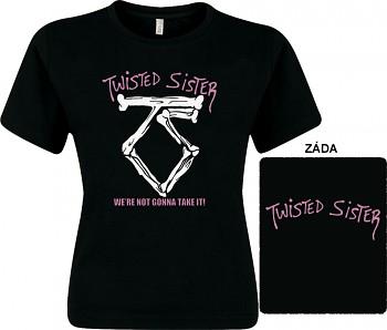 Twisted Sister - dámské triko