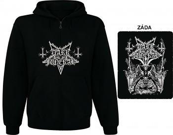Dark Funeral - mikina s kapucí a zipem