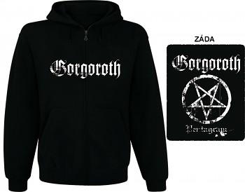 Gorgoroth - mikina s kapucí a zipem