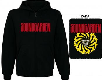 Soundgarden - mikina s kapucí a zipem