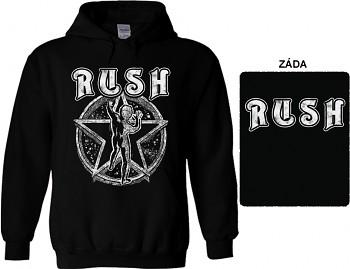 Rush - mikina s kapucí