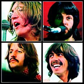 Beatles - polštář 2