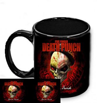 Five Finger Death Punch - hrnek černý