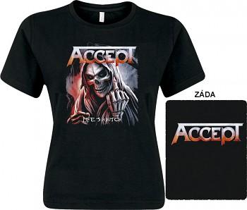 Accept - dámské triko