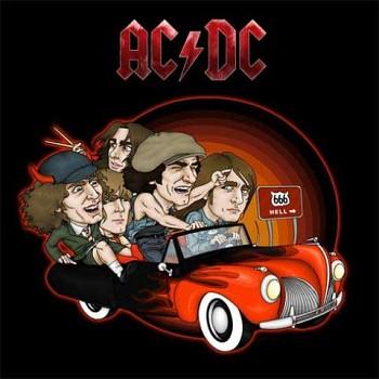AC/DC - 666 Hell - polštář