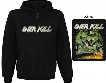 Overkill - mikina s kapucí a zipem