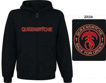 Queensryche - mikina s kapucí a zipem