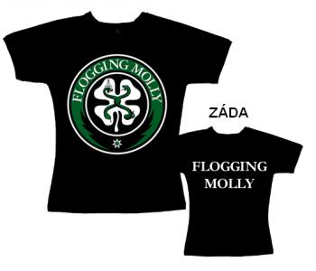 Flogging Molly - tričko dámské