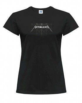 Metallica – dámské triko jednostranné